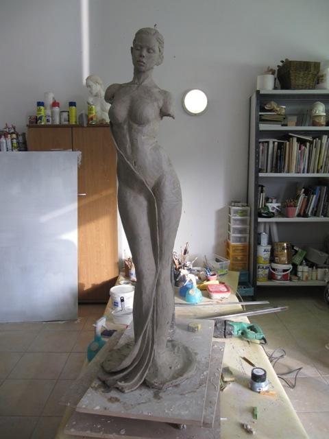 Sculpture initiale